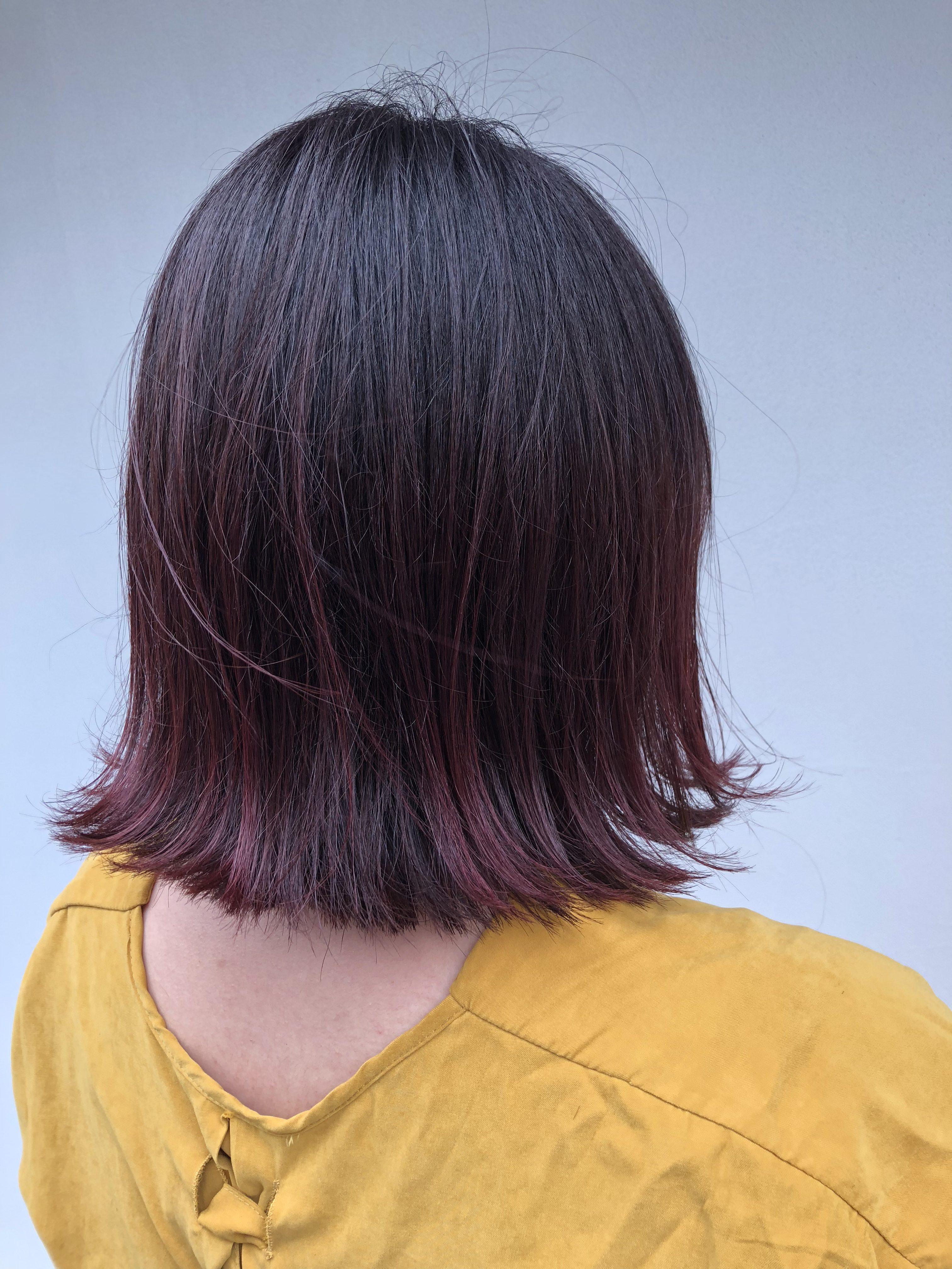 三鷹美容室salonmacramé 「秋カラー」